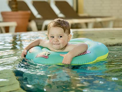 Milidom Flotador para bebé con Asiento, KimKo Inflable Bebé Asiento Hinchable Anillo de Natación para 1-3 Años de Edad: Amazon.es: Juguetes y juegos
