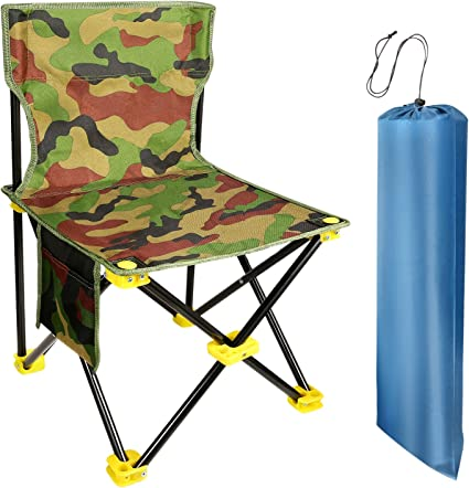 KingCamp Camping Stool Small Protable Backpacking Slacker Chair