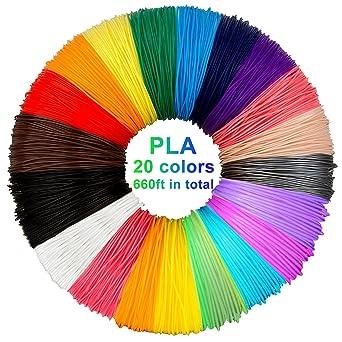 3d Stift Filament Pla 20 Farben Je 10m 3d Pen Pla Filament 1