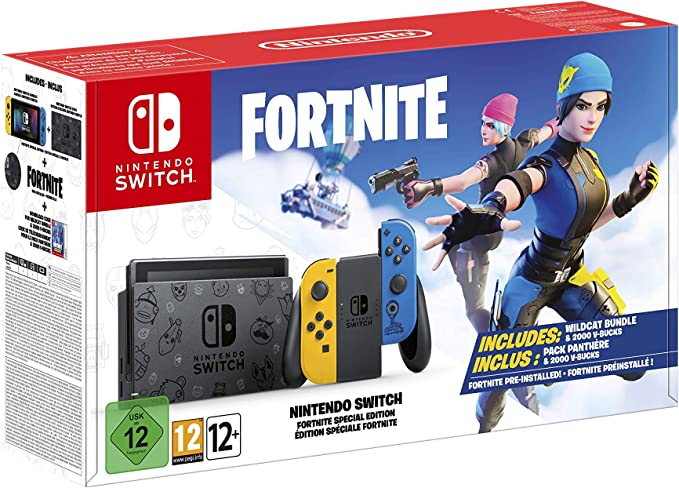 Nintendo Switch HW Edición Fortnite: Amazon.es: Videojuegos