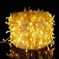 Elegear Guirnalda Luces Exterior Cadena de luz 500