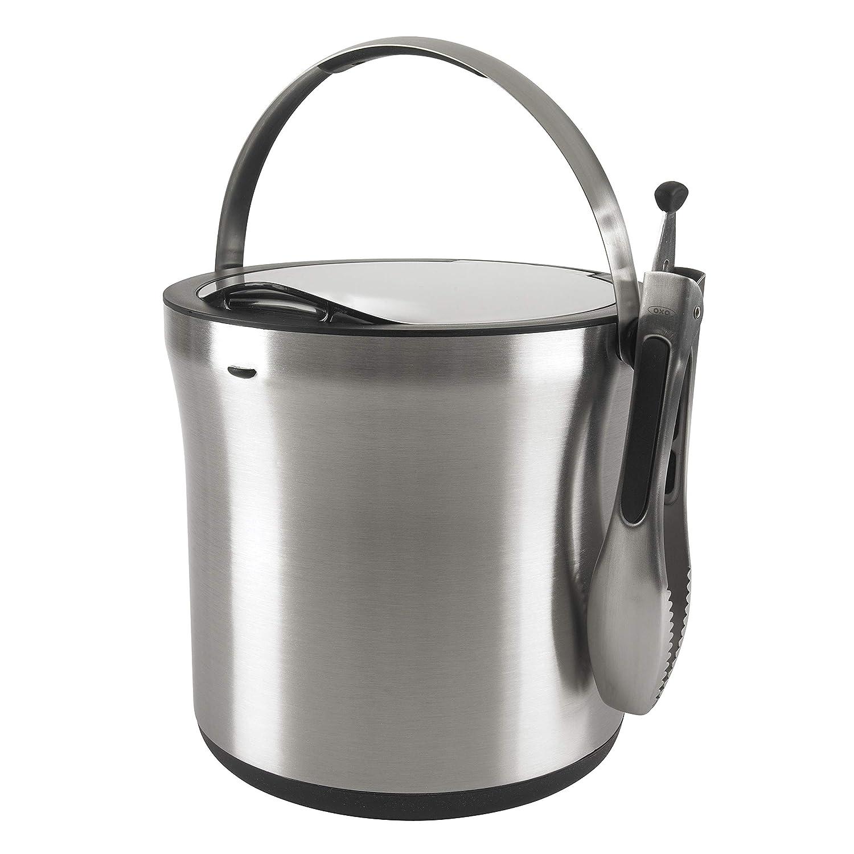 OXO SteeL Ice Bucket and Tongs Set 3107300