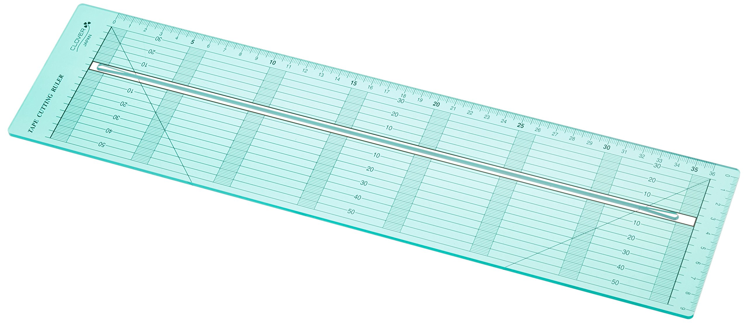 Clover Bias Tape Cutting Ruler by Clover