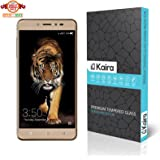 Kaira Screen Protector Premium Coated Tempered Glass Screen Protector Film Guard for Coolpad Note 5 (Anti-explosion With all Finger Print sensor/Camera Cutting)
