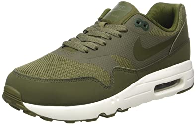 promo code 1de68 7e306 Nike Men s Air Max 1 Ultra 2.0 Essential Medium Olive Sail Legion Green  Running