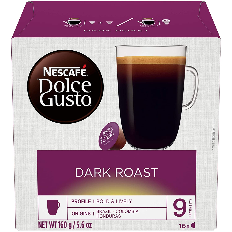 2  x 16 Capsules Nescafé Dolce Gusto Caffè Lungo Lot de 2
