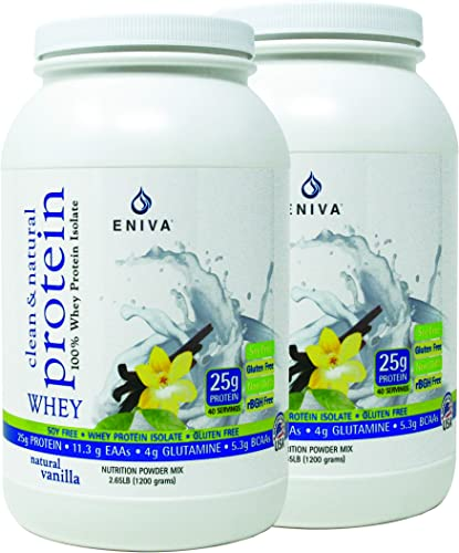 Natural Whey Protein Isolate Soy-Free, Antibiotic-Free, Grass-Fed, Hormone-Free, Gluten-Free, 99 Lactose-Free Dr. Formulated 2 lb Pack