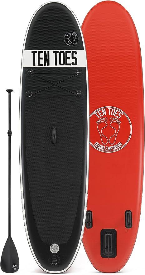 Ten Toes 10 ft. Weekender ISUP Board Bundle