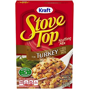 Stove Top Turkey Stuffing Mix (6 oz Boxes, Pack of 12)