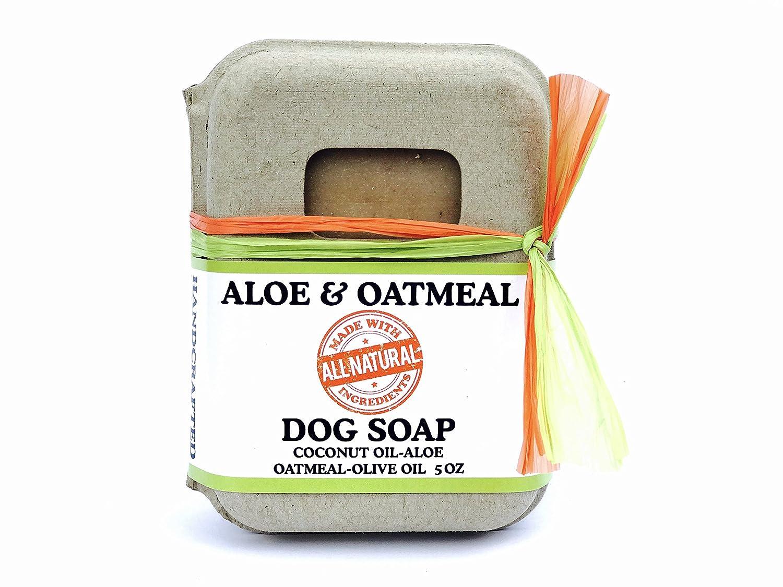 All Natural Aloe & Oatmeal Dog Soap