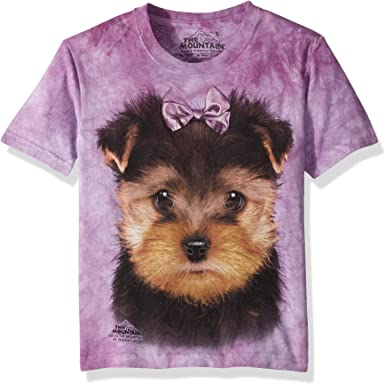 New The Mountain Yorkshire Terrier Face T Shirt