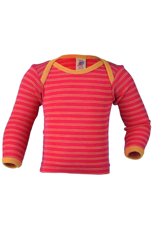 Engel 100/% merino wool striped baby T-shirt thermo underwear