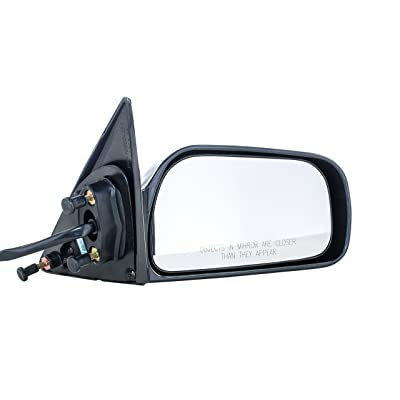 Dependable Direct Right Passenger Side Unpainted Non-Heated Non-Folding Door Mirror for USA Built (VIN #'s Starting with 1 Only) Toyota Camry (1997 1998 1999 2000 2001) - TO1321131: Clothing