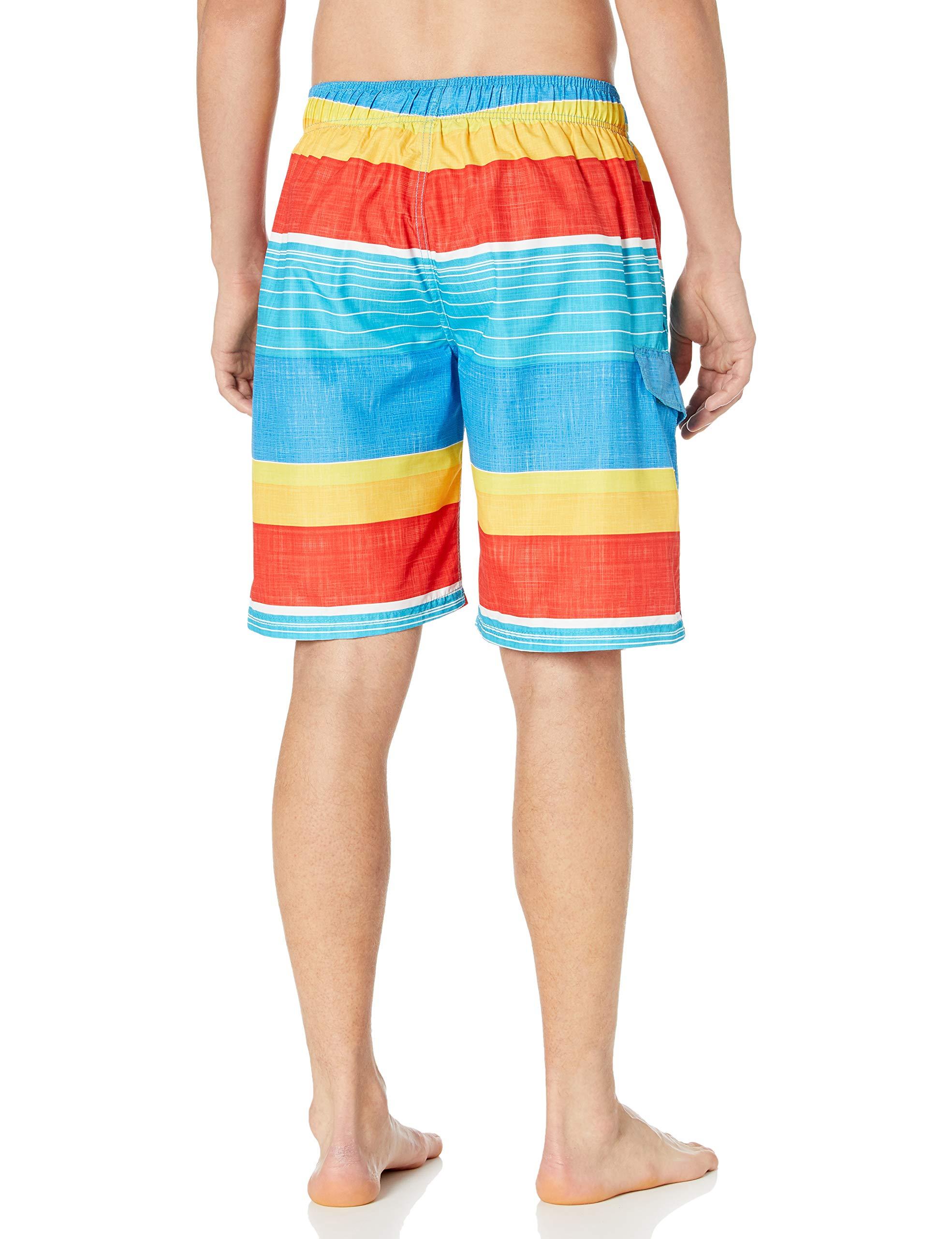 Kanu Surf Men's Echelon Swim Trunks (Regular & Extended Sizes)