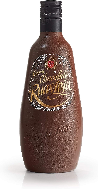RUAVIEJA crema de chocolate botella 70 cl: Amazon.es ...