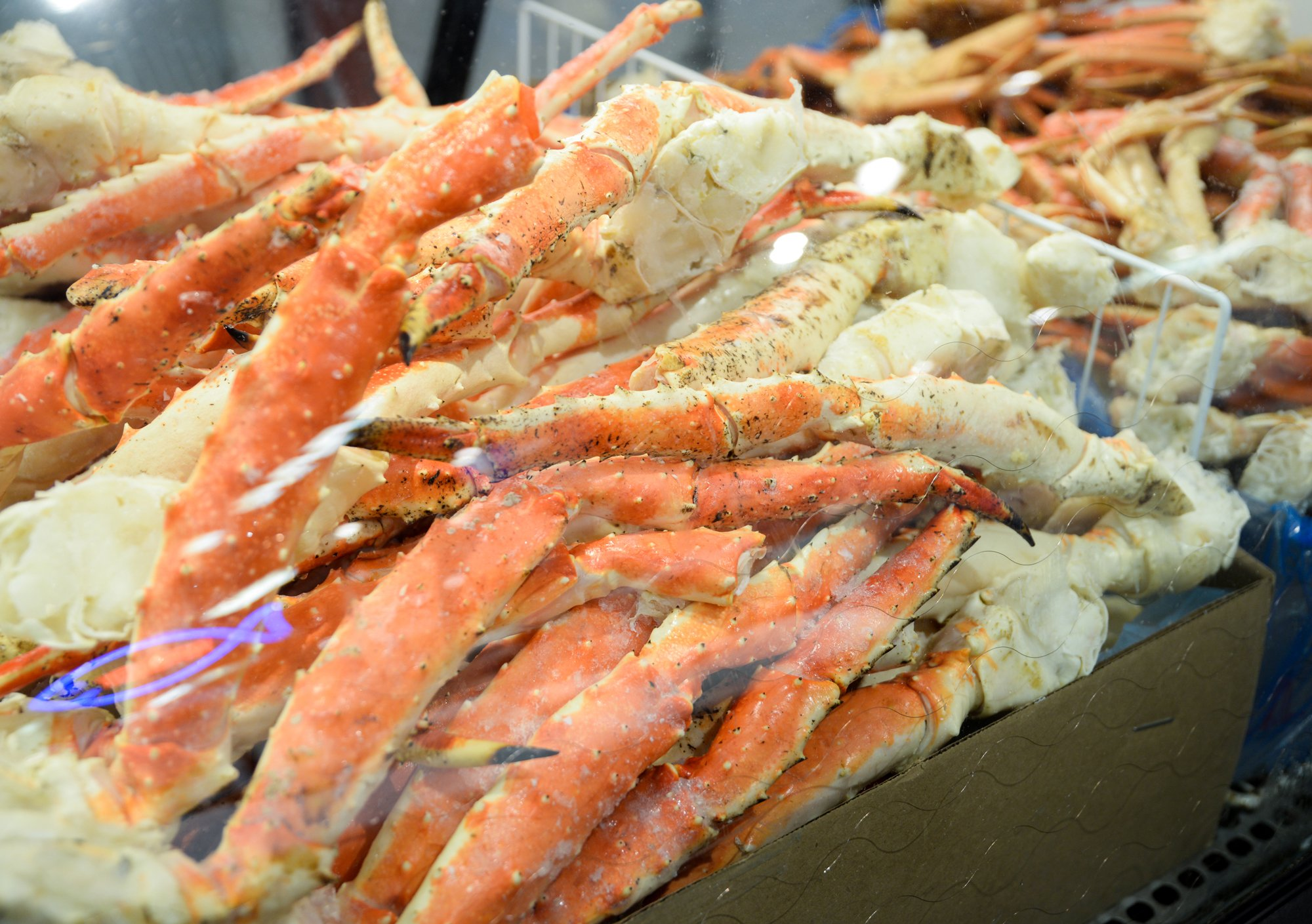 King Crab Legs Jumbo Size 20 Lb. Case