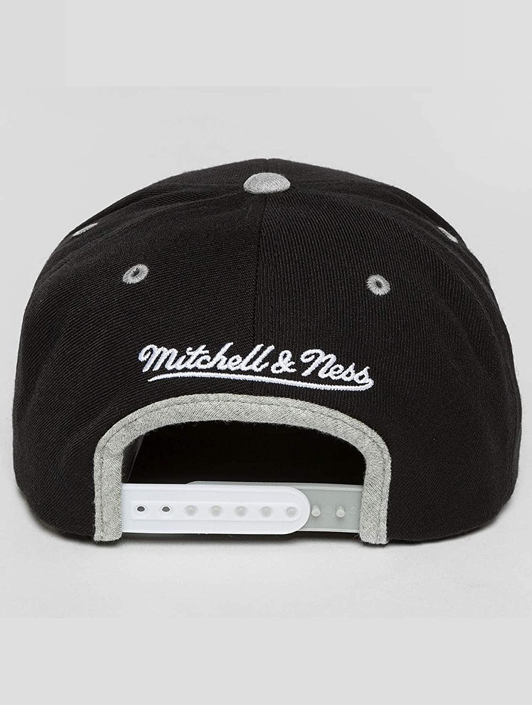Mitchell /& Ness Own Branded HUD100 2 Tone Grey Black Snapback Cap Kappe Basecap