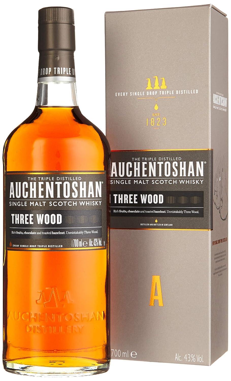 Auchentoshan Three Wood Single Malt Scotch Whisky 1 X 07 L