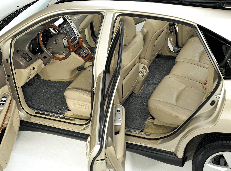 L1LR01802209 Classic Carpet 3D MAXpider All 2 Row Custom Fit Floor Mat for Select Land Rover Range Rover Evoque Models Black