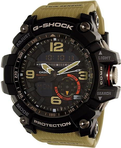e5c3f5b837cd CASIO Reloj Analógico-Digital para Hombre Correa en Resina GG-1000-1A5ER   Amazon.es  Relojes