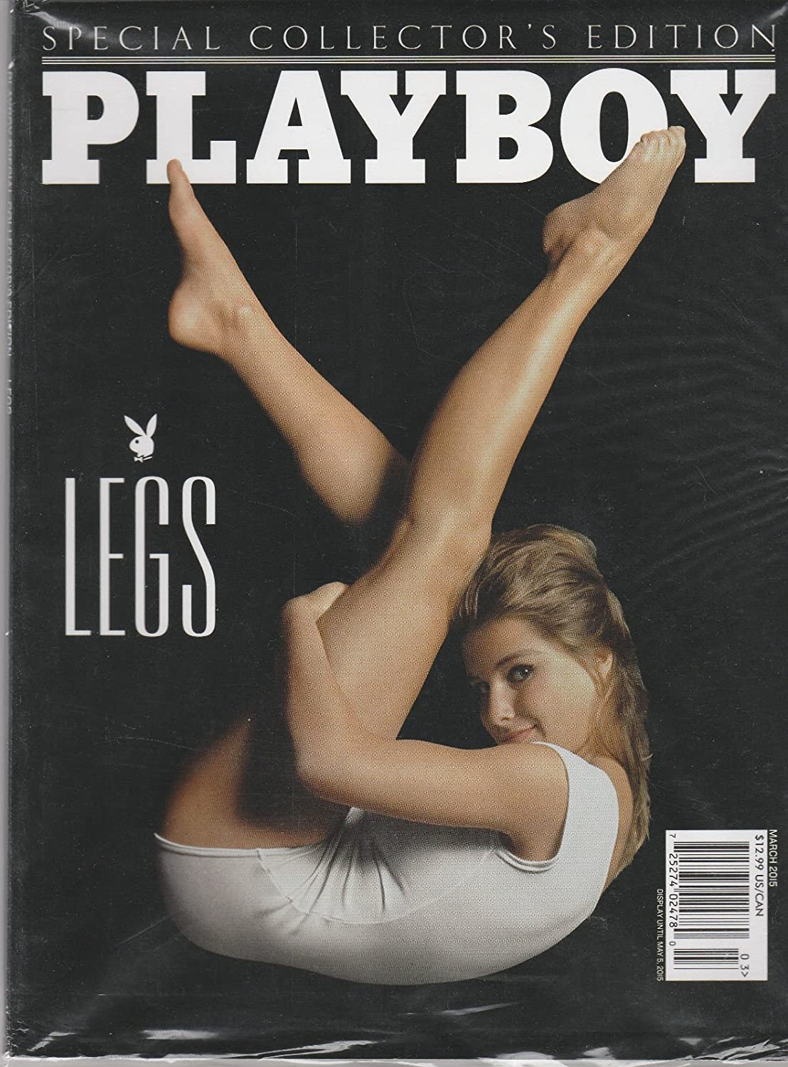 PLAYBOY MAGAZINE, SPECIAL COLLECTOR'S EDITION MARCH, 2015 LEGS s3457