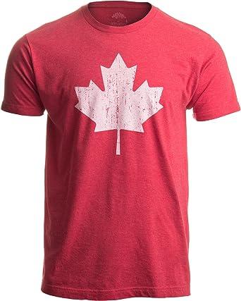 Ann Arbor T-shirt Co. Diseño con la Bandera de Canadá - Camiseta ...