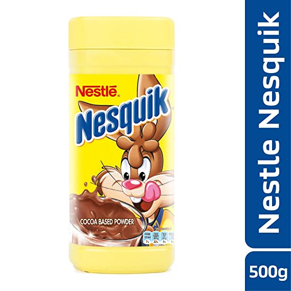 d8e8bc34903 NESTLE NESQUIK Cocoa Based Powder Drink Mix - 500g  Amazon.in ...