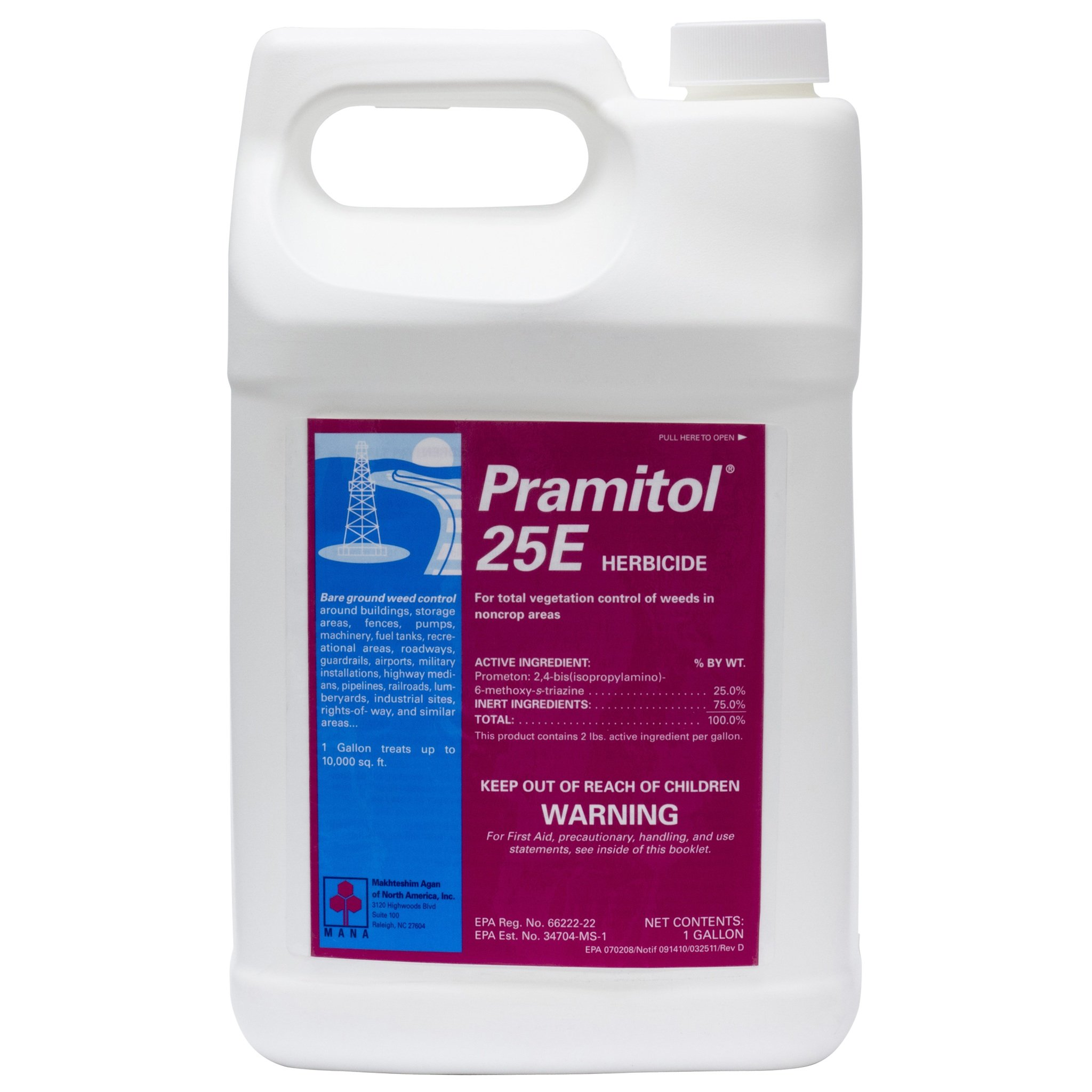 MANA 82000025 Concentrate Herbicide, 1_Gallon, Yellow