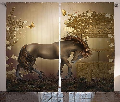 Ambesonne Mystic Curtain