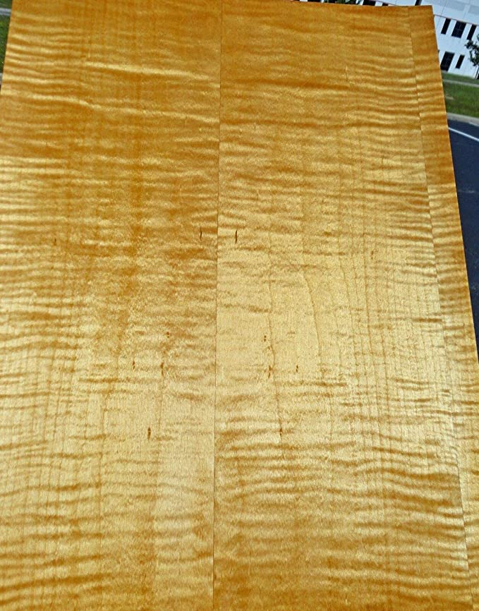 "13 sheets 8x18 Maple Veneer Sheets 1//16"" thick"