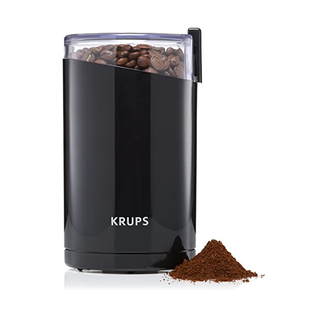 KRUPS F203 Electric Spice and Coffee Grinder w...