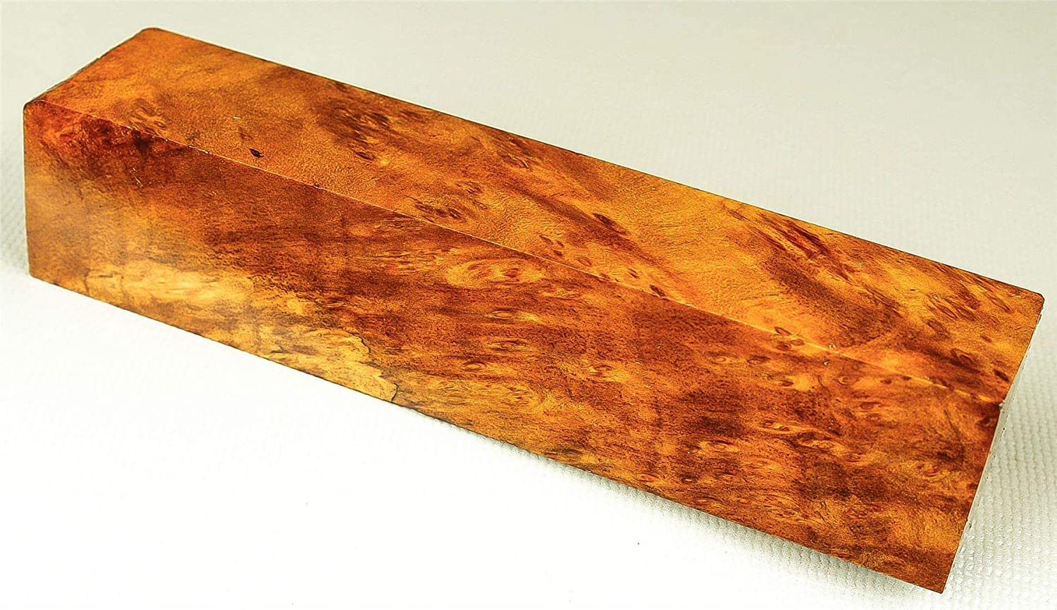 Cheesewood Burl Reel Seat Fishing Lure Blank Stabilized Exotic