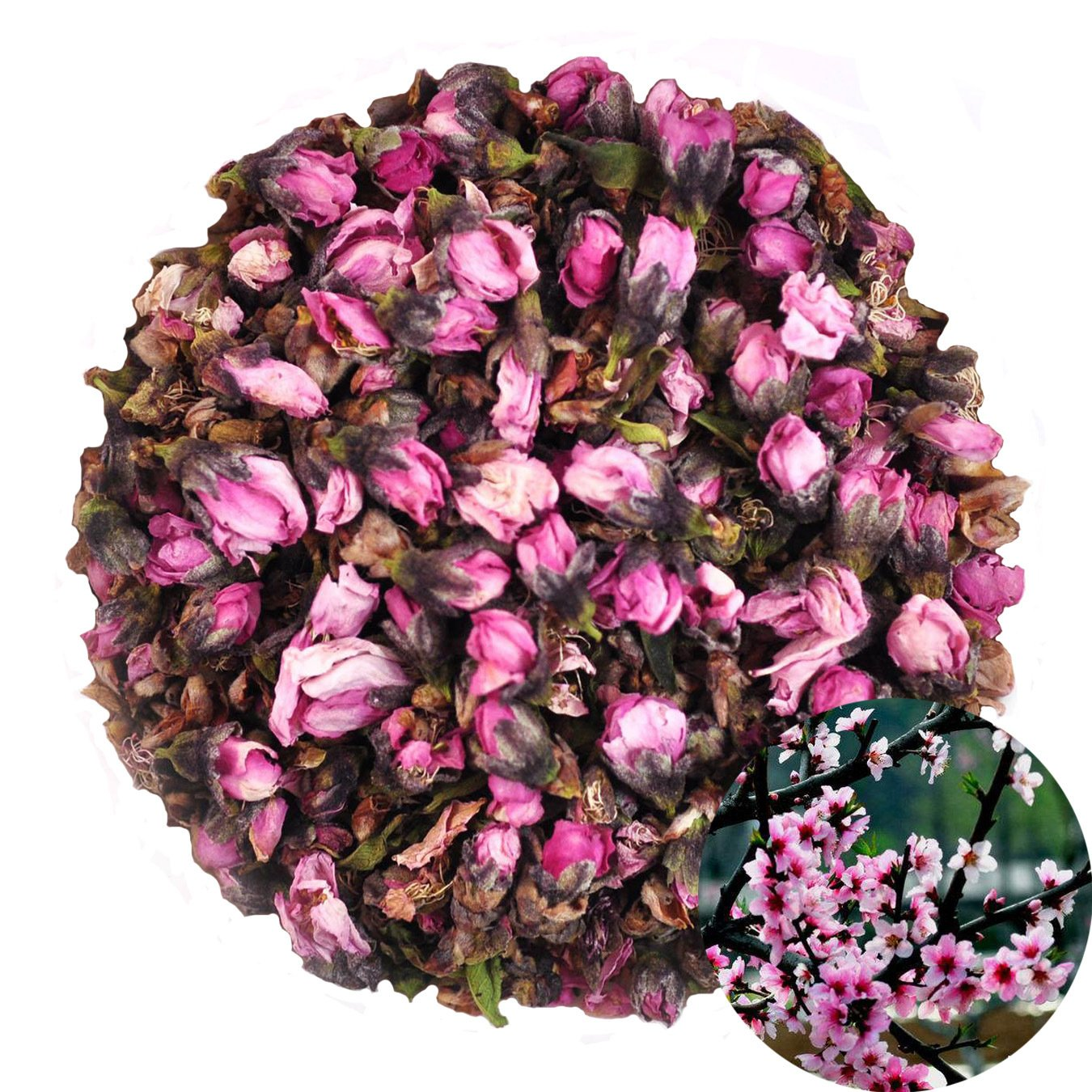 Peach Flowers Tea Botanicals Dried Peach Blossom Bud Crafts Candle Soap Bath