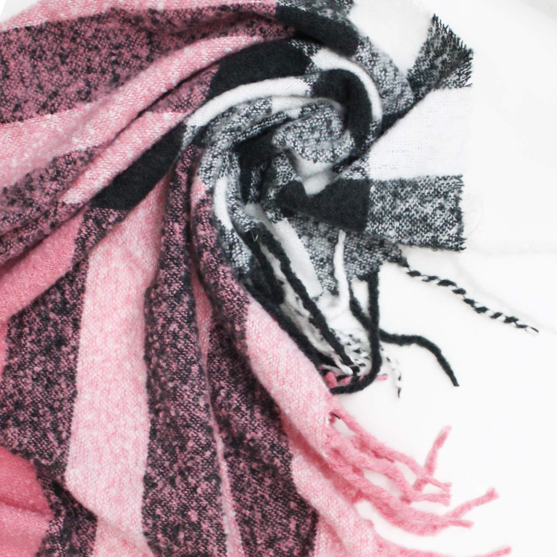 Calda e Splendida a varie fantasie Glamexx24 XXL Sciarpa o Poncho Soffice