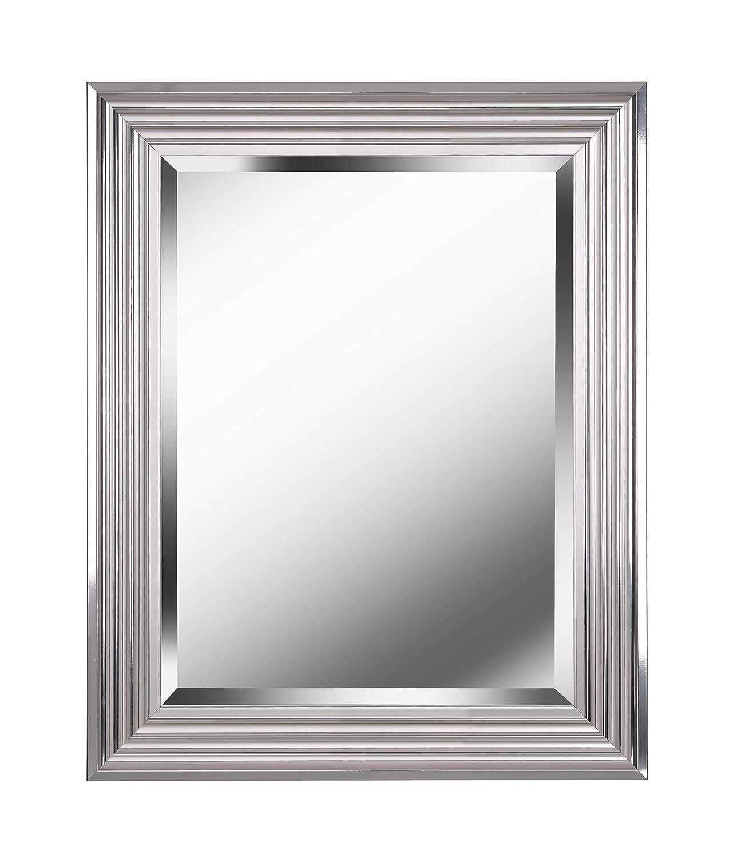 "Kenroy Home Lyonesse Mirror, 24"", Chrome (Wall 24"" x 30"")"
