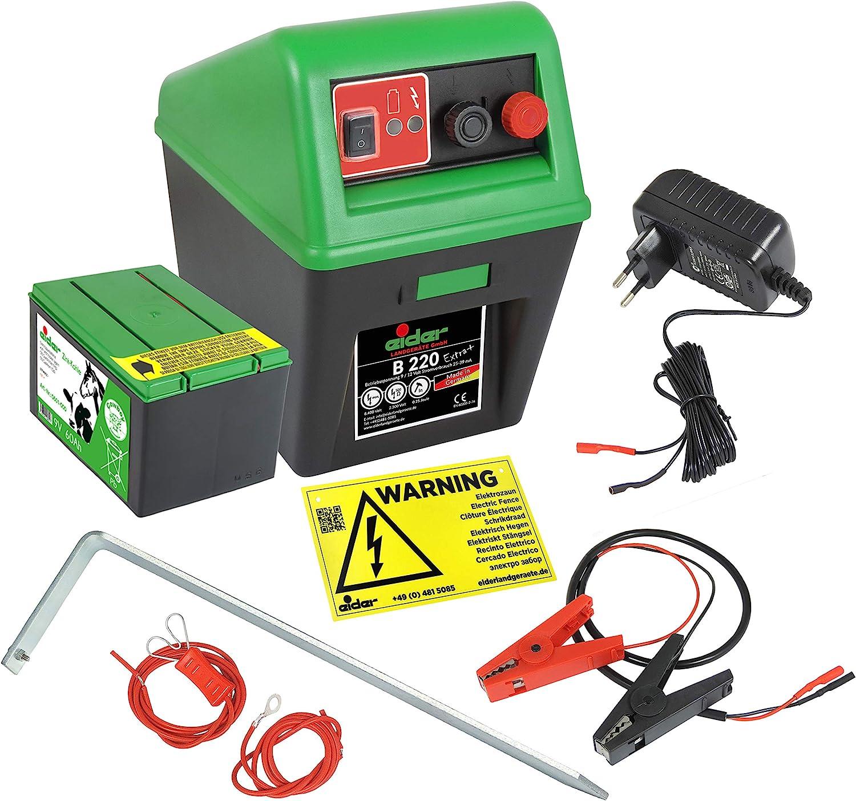 9 Volt auf 12 Volt Adapter für Weidezaungerät Weidezaungeräte Elektrozaun Gerät