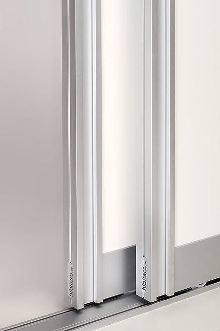 Diseño de aluminio para puerta corredera para 2 puertas, Twin Floor – Ideal para durchgangs