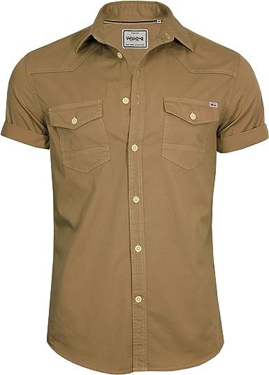 JACK & JONES - Camisa casual - Básico - con botones - Manga ...