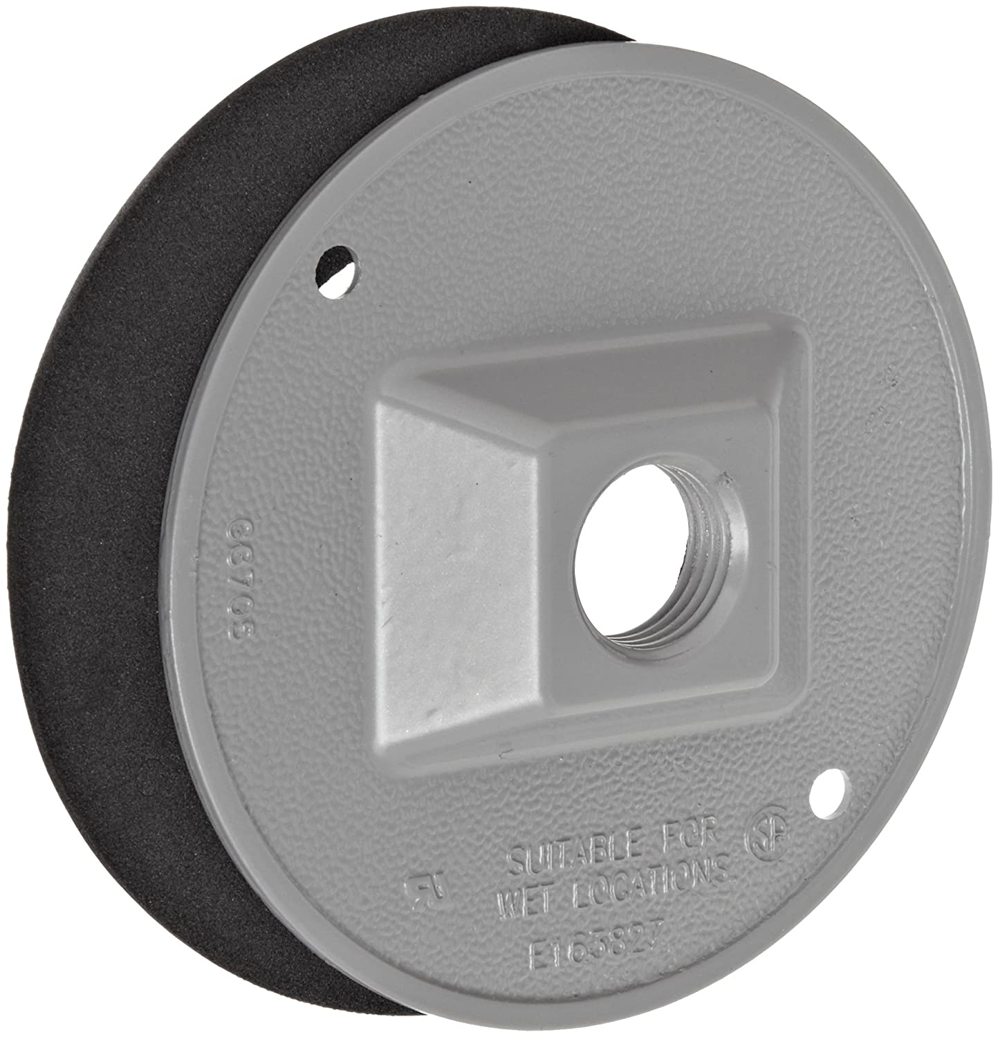 Dwyer Flange Mounting Plate with 1//2 Female NPT