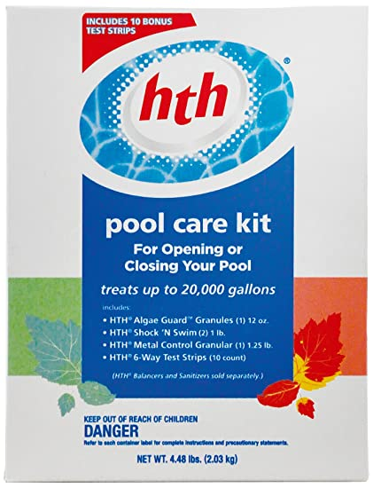 Amazon Hth 91917 Pool Care Kit 2 By 1 Inch Garden Outdoor