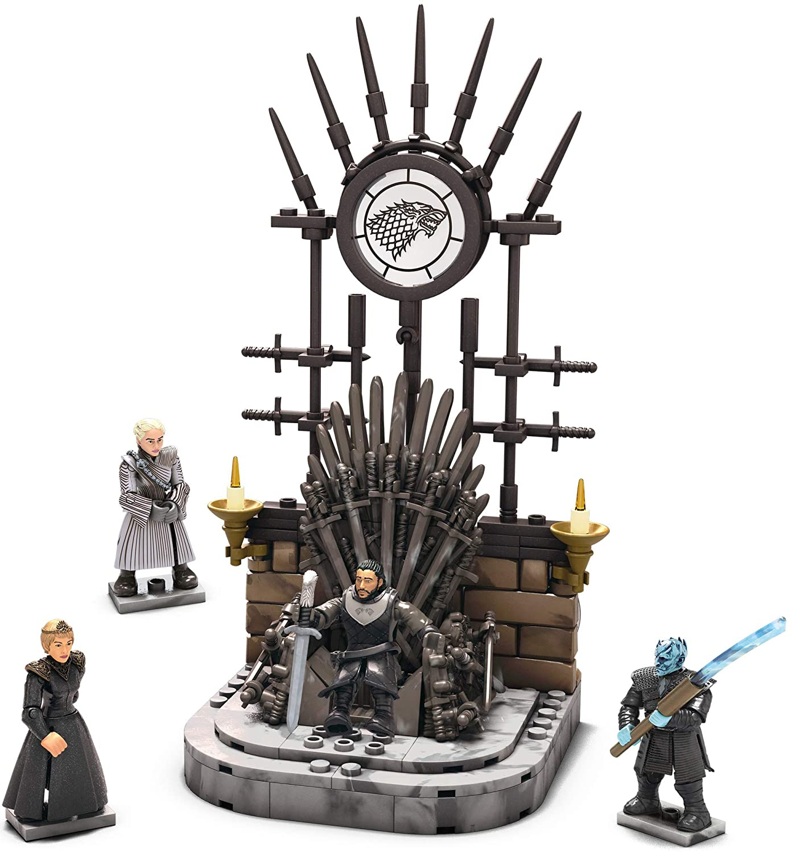 Game of Thrones The Iron Throne Building Set Mega Construx