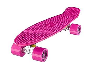 Ridge Retro 22 Skateboard, Unisex, Rosa, 55 cm: Amazon.es: Deportes y aire libre