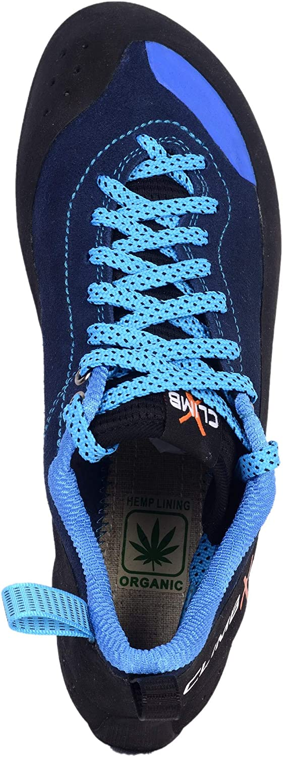 2019 Rock Climbing//Bouldering Shoe Climb X Crush Lace Blue