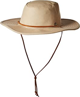 8d6ff4142f7 Amazon.com  Coal Men s The Huck Wide Brimmed Straw Sun Hat  Clothing