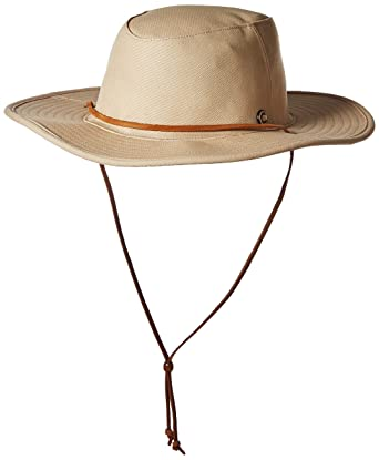 210abb0c5e3 Amazon.com  Coal Men s The Wayfarer Wide Brimmed Adventure Sun Hat  Clothing