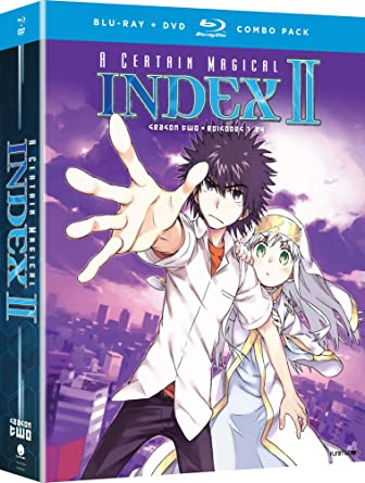 Amazon com: A Certain Magical Index II: Season Two [Blu-ray]: Austin