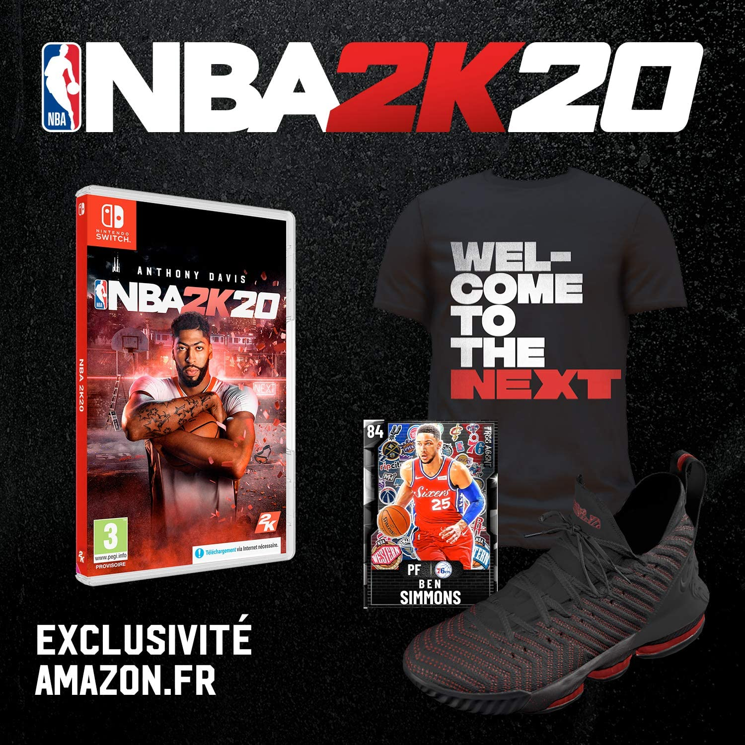 NBA 2K20 + DLC - Exclusivité Amazon [Importación francesa]: Amazon ...