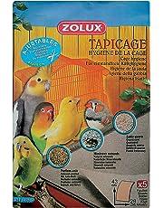 Zolux Tapicage Hygiene de la Cage pour Oiseau Taille L ,43 X 28cm