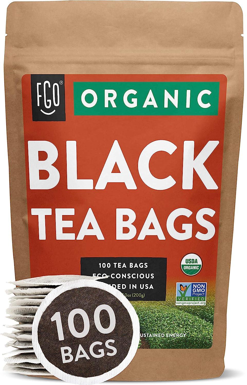 Organic Black Tea Bags
