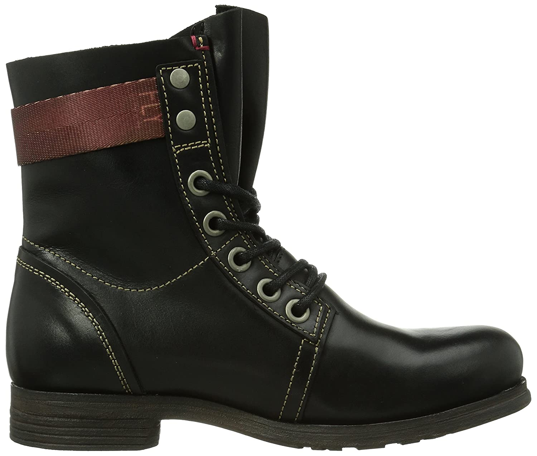FLY London Women's Stay Boot B00K85AKUW 38 EU/7.5-8 M US|Black Rug